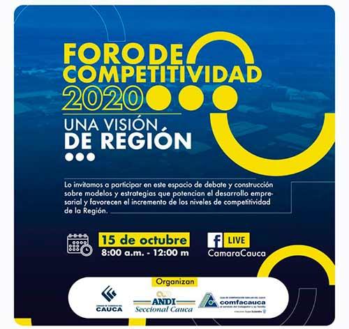¡Foro de competitividad fortalece a la región!