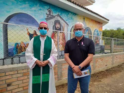 Belén inaugura mural bíblico, un atractivo de fe y turístico