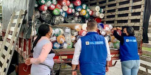 El centro textil de Popayán suma telas para emprendedoras y organizaciones sociales de mujeres caucanas