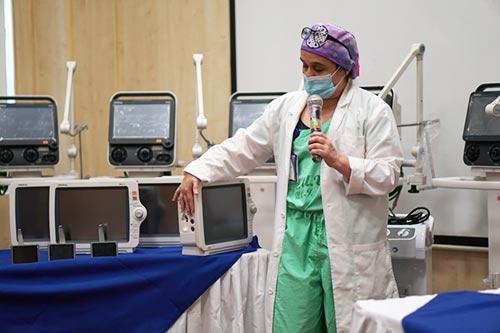 Gases de Occidente dona equipos biomédicos al hospital Universitario del Valle
