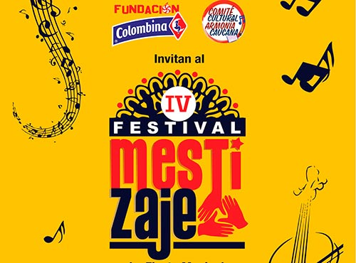 Llega en formato virtual la IV versión Festival Mestizaje