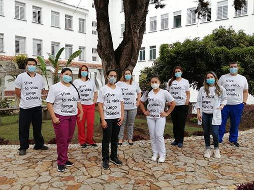 Hospital San José invita a la comunidad a decir sí a la donación de órganos y así salvar muchas vidas