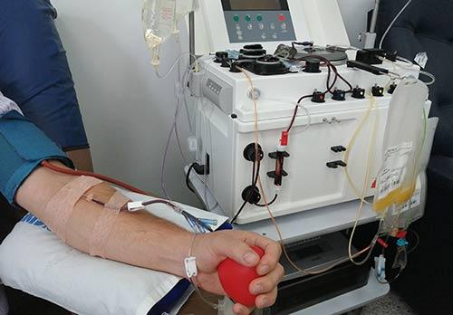 Hospital San José conmemora el Día del Donante de Plaquetas por Aféresis