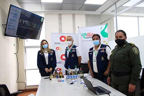 Integrantes de la Policía del Cauca reciben capacitación sobre legalidad en licores y cigarrillos