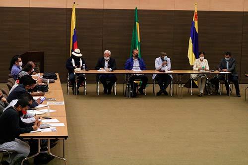 Avanza la Mesa de Derechos Humanos por la Defensa de la Vida del Departamento del Cauca