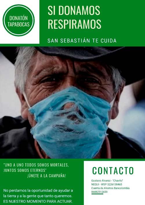 Campaña Si Donamos Respiramos San Sebastián te Cuida