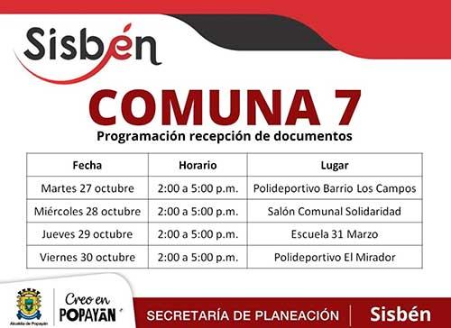 Positivamente avanza la actualización del Sisbén en Popayán