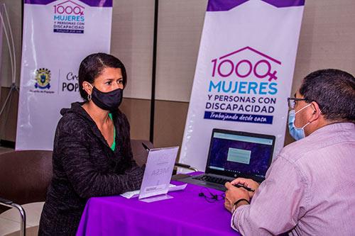 Primera rueda de negocios del programa Mil mujeres y personas con discapacidad trabajando desde casa