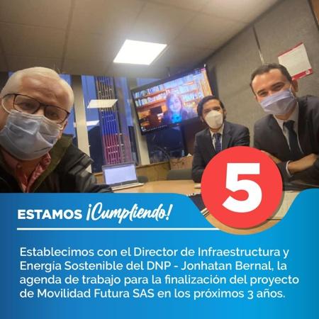 Alcalde de Popayán Juan Carlos López presenta resumen de actividades del 2 al 8 de noviembre