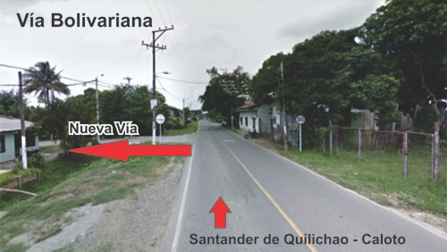 Aprobada construcción vía que une Panamericana con Bolivariana