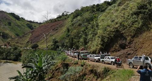 Caravana al Micay: un canto por la vida