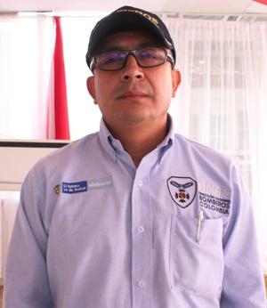 Charles Benavidez - Director Nacional de Bomberos de Colombia