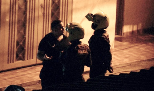 Concejal borracho protagonizó escándalo
