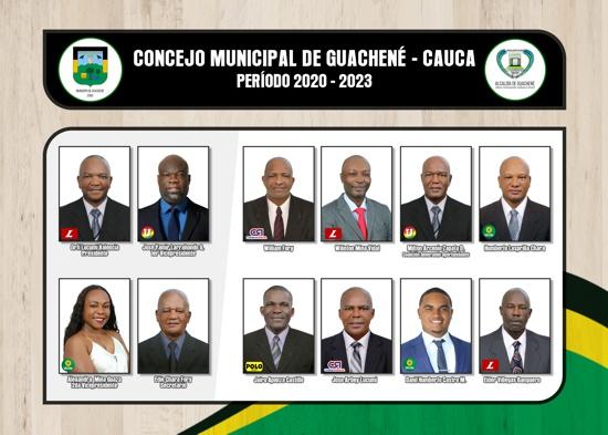 Concejo Municipal de Guachené 2020 - 2023