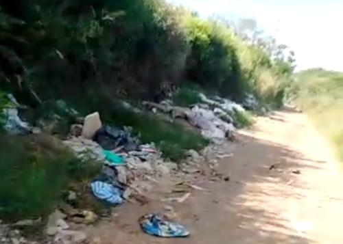 Denuncia Ciudadana pone al descubierto botadero de escombros en Quilichao