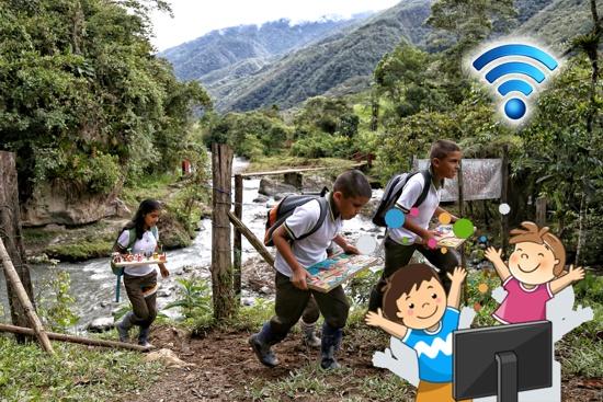 En el Cauca, al 70% de la población llegará el internet