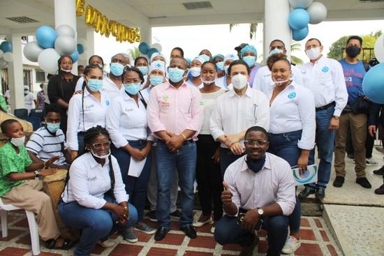 Entrega de equipos biomédicos para hospital de Guapi