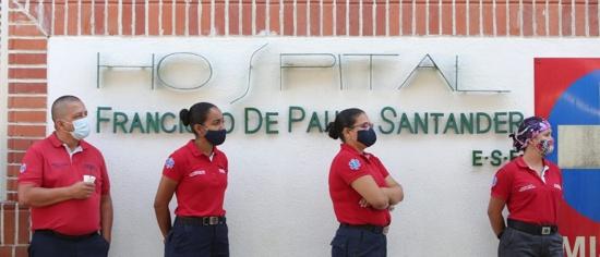 Entregan 15 UCI para atención del Covid al Hospital Francisco de Paula Santander
