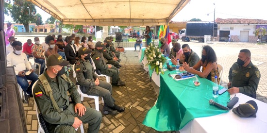 Feliz Aniversario Policía Nacional: Alcaldía de Guachené