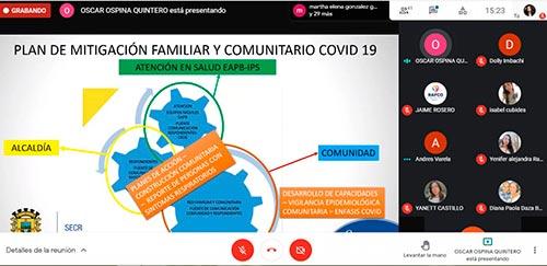 """""""Un pacto vital para evitar un rebrote por COVID19 en Popayán"""""""