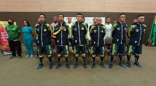 Comenzó la fiesta deportiva con la Superliga de Fútbol Sala