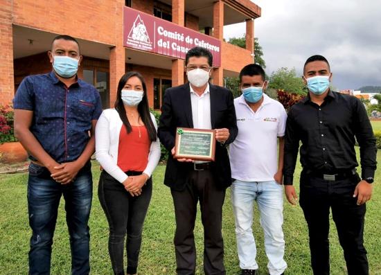 Gerardo Montenegro Paz recibió reconocimiento del Concejo de El Tambo - Cauca