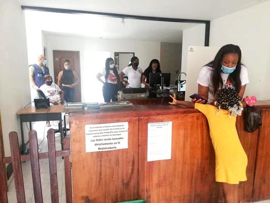 Gran jornada de registro gratuito para población vulnerable se realizó en Guachené