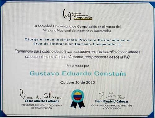 Estudiantes de Unicauca se destacan en Simposio Nacional de Maestrías y Doctorados