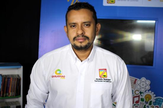 John Edwin Vargas Calambás, secretario de Educación de Santander de Quilichao