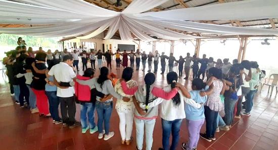 Mediación comunitaria de la mano de mujeres campesinas e indígenas