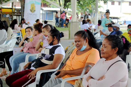 Migrantes venezolanos fueron caracterizados y orientados legalmente en Villa Rica