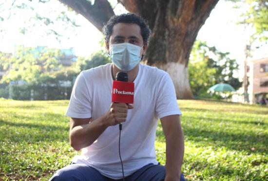 Nicolás Manzano, director del proyecto Unidos por la Vida