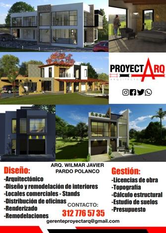 PROYECT ARQ - ARQUITECTOS - SANTANDER DE QUILICHAO