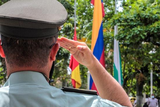 Policía Nacional conmemora sus 129 años de servicio en Santander de Quilichao