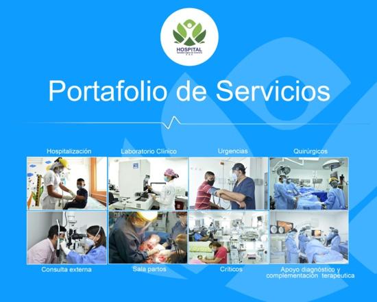 Portafolio de Servicios - Hospital Susana López de Valencia