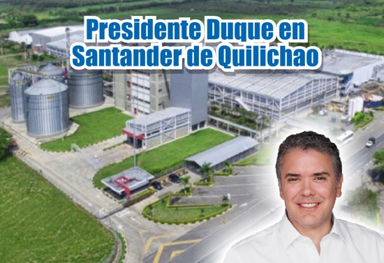 Presidente Duque en Santander de Quilichao - Colombina SA