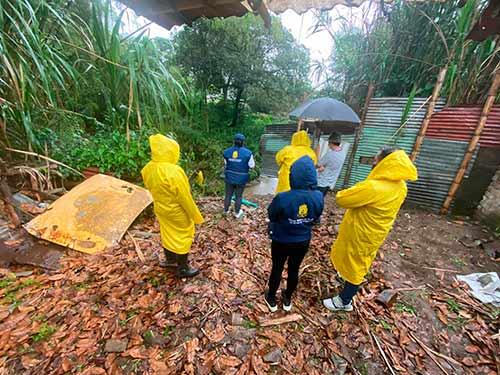 Alertas por lluvias están siendo atendidas oportunamente por los organismos de socorro de la ciudad