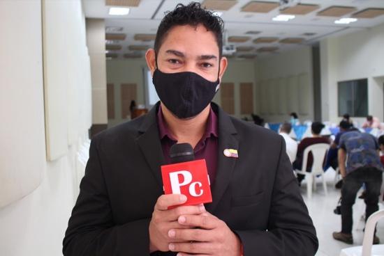 Roller Escobar, alcalde del municipio de Villa Rica
