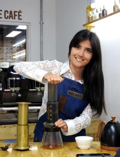 Sara Lucía Agredo - Ganadora del Campeonato Suizo de Aeropress - Ascafé