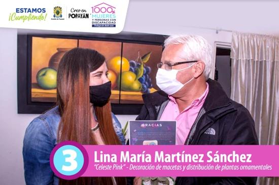 """Se impone en Popayán el arte ornamental con """"Celeste Pink"""""""