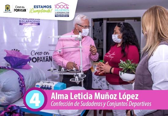 Se me adelantó la navidad - Alma Leticia Muñoz - Beneficiaria Programa 1.000 Mujeres y personas con discapacidad trabajando desde casa