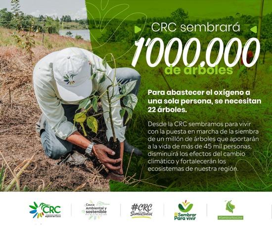 """""""Sembrar Para Vivir"""", una estrategia integral contra el cambio climático - CRC"""