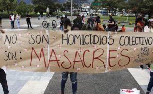 Sigue vigente el terror: nuevas masacres en Colombia
