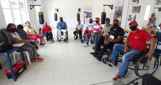 Taller de mantenimiento de sillas de ruedas se realizó en Corinto