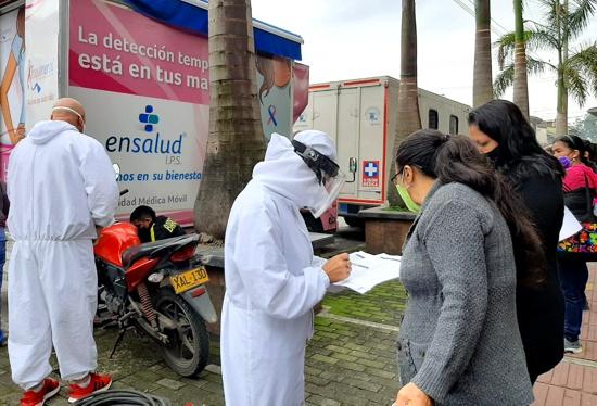 Tomas de mamografías GRATIS en Popayán