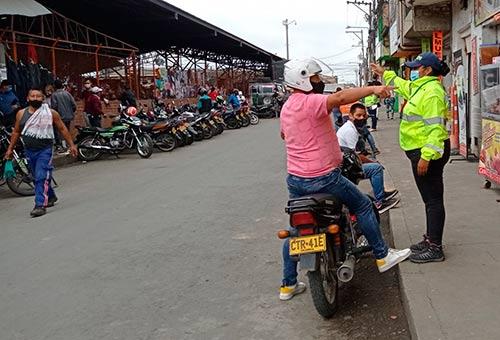 Continúan acciones para mejorar tráfico en las calles de Popayán
