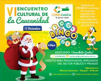 VI Encuentro Cultural de la Caucanidad - Codelcauca