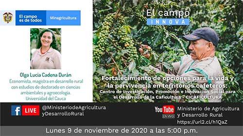 Con el apoyo de Unicauca se trabaja en beneficio del caficultor caucano