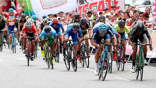 Comienza la edición 70 de la Vuelta a Colombia en bicicleta