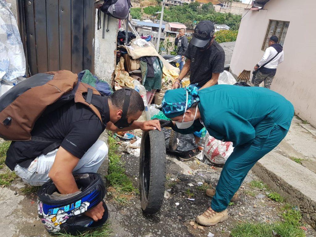 Acciones con la comunidad por un Popayán libre de Dengue